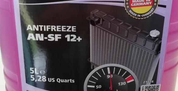 Концентрат антифриза G12+ немецкого производителя ROWE